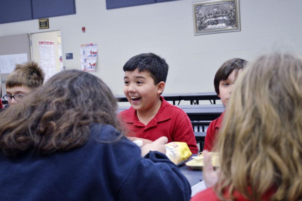 Jude Cobler at school. Photo/Christina Ulsh