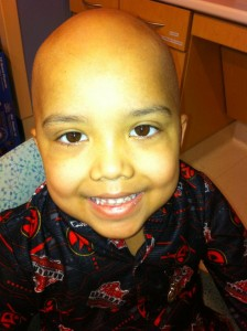Jude Cobler received chemotherapy -- but the chemo didn't work. Photo/Courtesy Cobler family