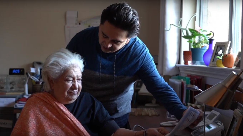Tech Guerrero & his mom, Maria Luisa Castillo