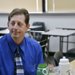 """Dilcia has """"learned more in these eight months than a lot of students learn in two or three years,"""" says Steve Crouch, an ESL teacher at Plano East Senior High. Photo/Christina Ulsh"""