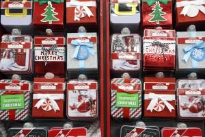 A selection of Christmas gift cards at Walmart in Dallas. Photographed on Monday, November 16, 2015. Photo/Lara Solt