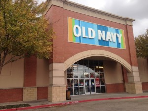 Old Navy in Arlington. Photo/Courtney Collins