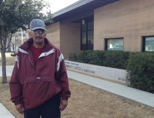 Roger Payne stands outside the Jubilee Park & Community Center. Photo/Lara Solt
