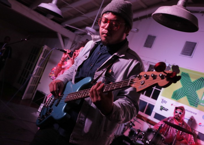 The Tontons at Palm Door on Sabine & The Districts Mild High Club and The Black Cadillacs | KXT@SXSW