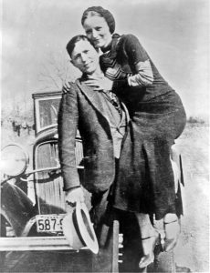 Clyde Barrow and Bonnie Parker were West Dallas outlaws