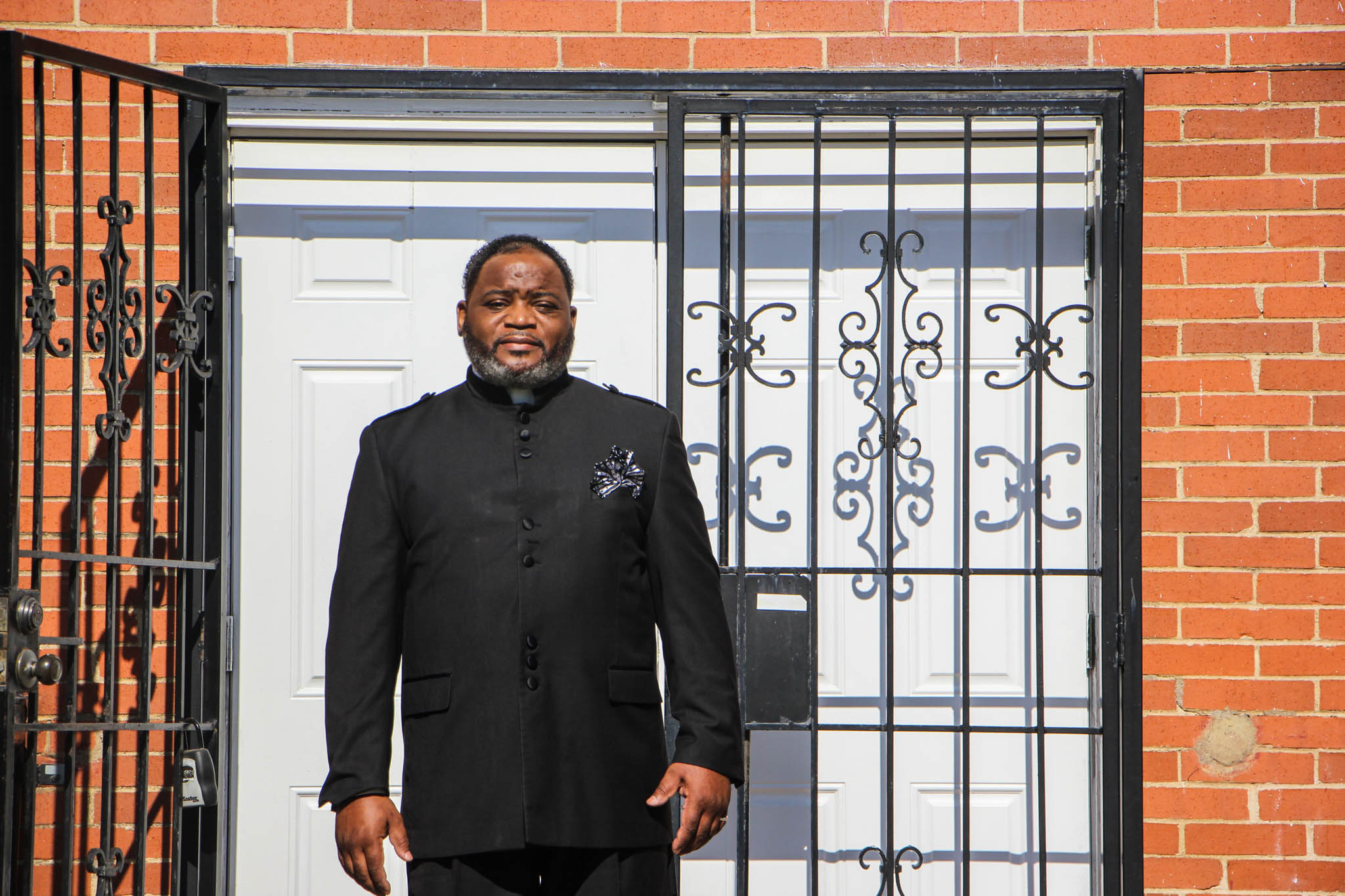Cedric B. West is the pastor of the Ark of God Revival Temple in West Dallas. Photo/Jessica Diaz-Hurtado