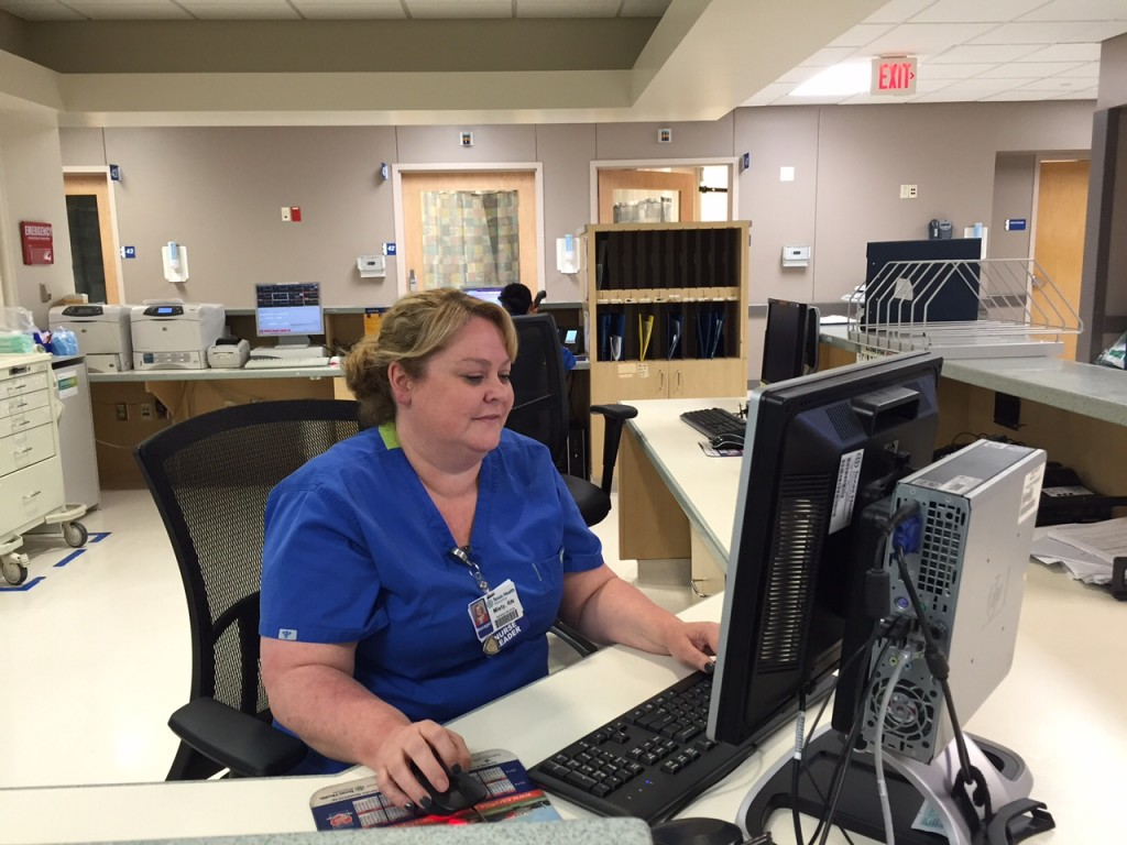 Misty Cogburn, Emergency Department Nurse Manager at Texas Health Resources Dallas. Photo: Lauren Silverman