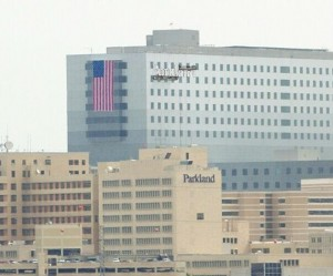 Parkland Hospital in Dallas. Photo Credit/Parkland