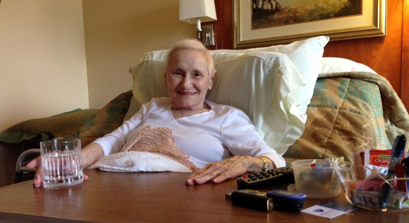 Jeanette Mariani landed in a Dallas rehabilitation facility after she fell and broke her hip.