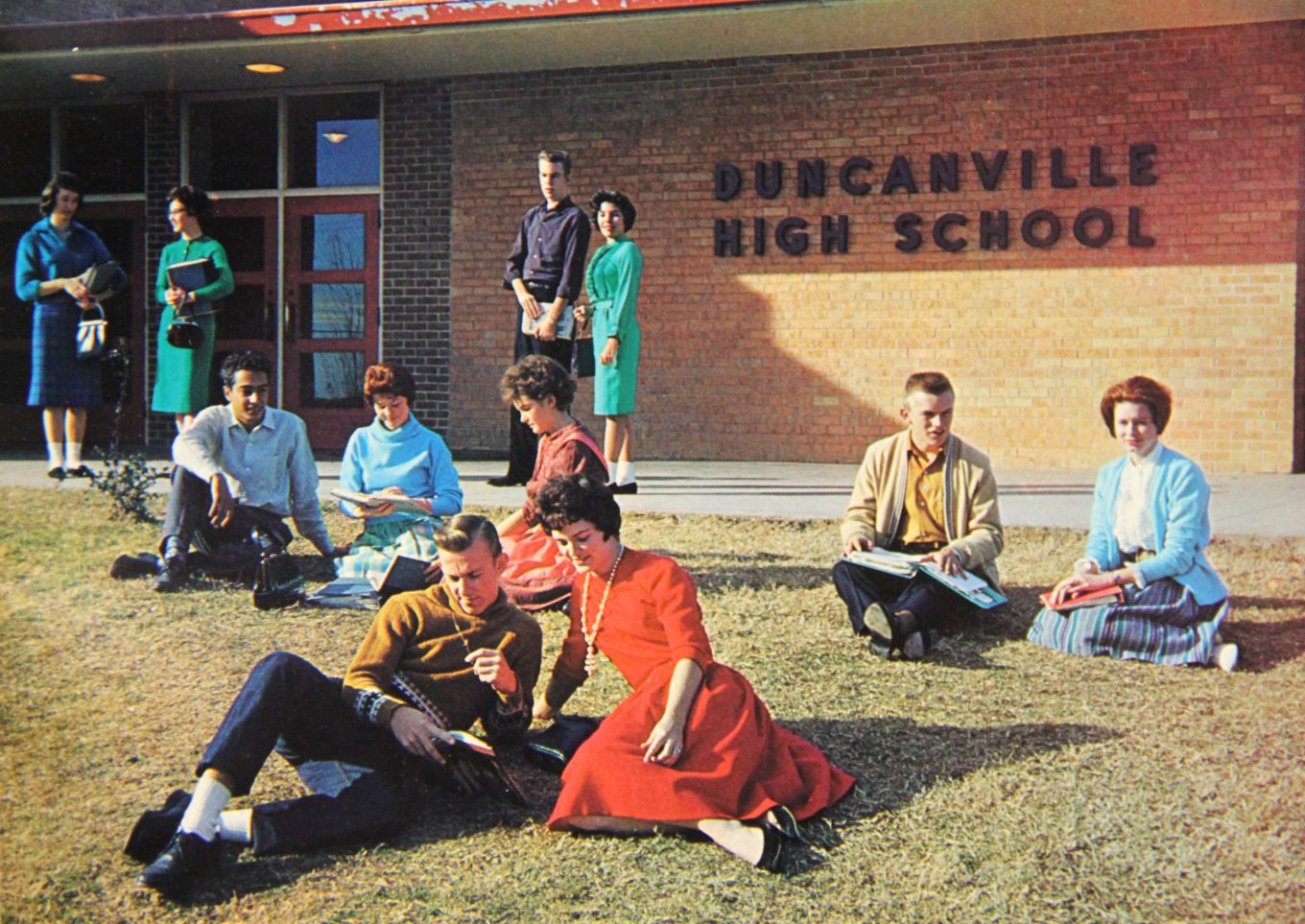 Duncanville High School in 1962. Photo/Duncanville archives