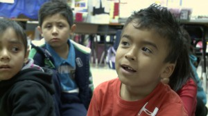 In Grand Prairie ISD, students in pre-kindergarten through first grade are taught language arts in Spanish. Beginning in second grade, they're taught in both English and Spanish. Photo/Mark Birnbaum