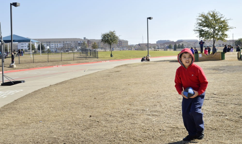 Jude Cobler at All Saints Catholic School in Far North Dallas. Photo/Christina Ulsh
